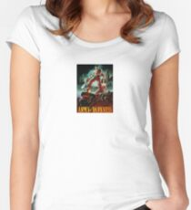 army of darkness poster Women's Fitted Scoop T-Shirt