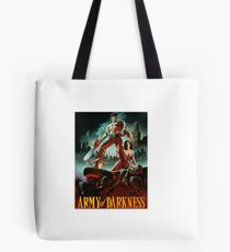 army of darkness poster Tote Bag