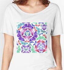 Watercolor butterfly pattern Women's Relaxed Fit T-Shirt