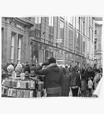 Strassenhändler Poster