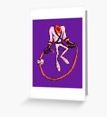 Earthworm Jim - Jumpin' Rope Greeting Card