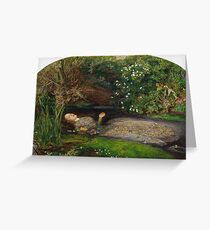 John Everett Millais - Ophelia Greeting Card