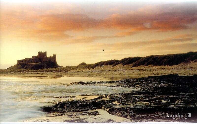 Bamburgh Castle by hilarydougill