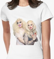trixie and katya Women's Fitted T-Shirt