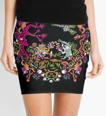 Aztec meeting psychedelic T-shirt Mini Skirt
