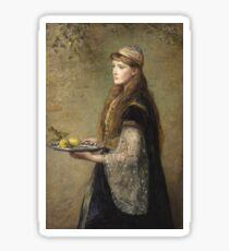 John Everett Millais - The Captive Sticker