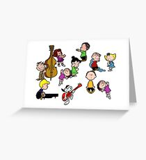 A Charlie Brown Christmas Dance Greeting Card