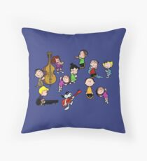 A Charlie Brown Christmas Dance Throw Pillow