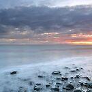 Talisker Bay at Sunset by Maria Gaellman
