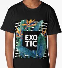 Watercolor strelitzia Long T-Shirt