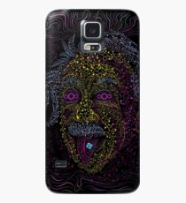 Acid Scientist tongue out psychedelic art poster Case/Skin for Samsung Galaxy
