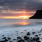 Talisker at Sunset by Maria Gaellman