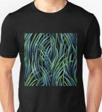 Watercolor tillandsia cyanea Unisex T-Shirt