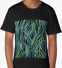 Watercolor tillandsia cyanea Long T-Shirt