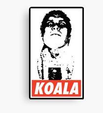 Obey the Giant Koala Canvas Print