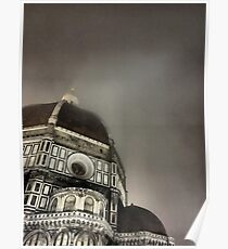 Spooky Duomo of Firenze Poster