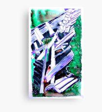 Storm Damaged Barn Canvas Print