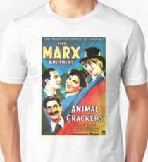 """Marx Bros """"Animal Crackers"""" Unisex T-Shirt"""