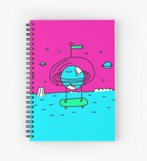 Surreal Planet - Mr Beaker Spiral Notebook