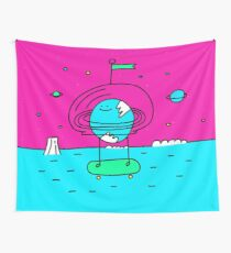 Surreal Planet - Mr Beaker Wall Tapestry