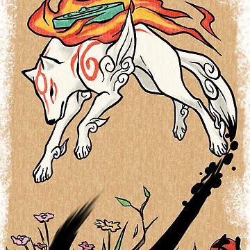 Okami wolf by jccat