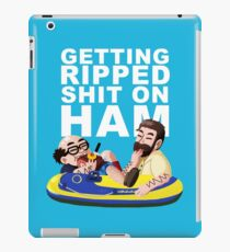The gang goes to Jersey Shore  iPad Case/Skin