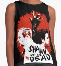 Shaun of the dead Poster Contrast Tank