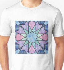 Azulejos de acuarela Camiseta unisex