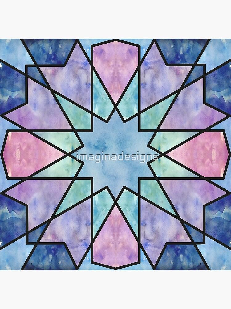 Azulejos de acuarela de imaginadesigns