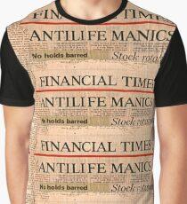 Antilife Manics Graphic T-Shirt