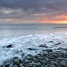 Incoming Tide at Sunset by Talisker Bay by Maria Gaellman