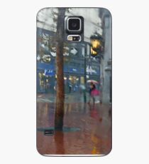 Market Street Corner Lights Case/Skin for Samsung Galaxy