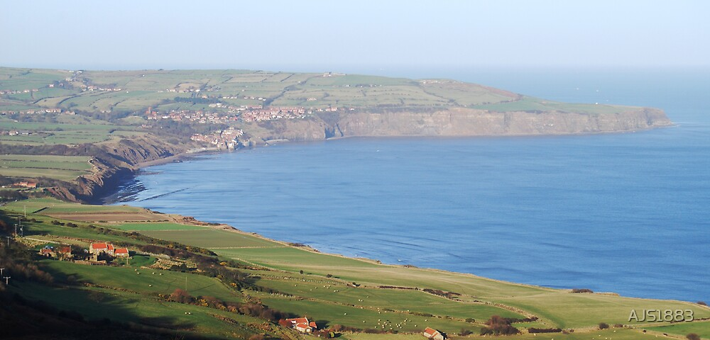 Robin Hoods Bay from Ravenscar by AJS1883