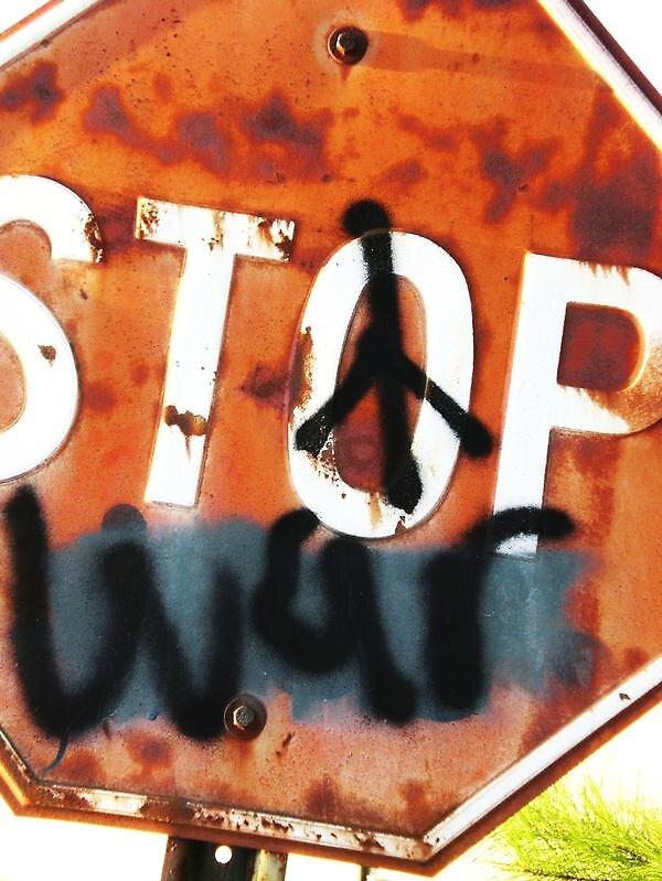 Stop War by ilyssarae12