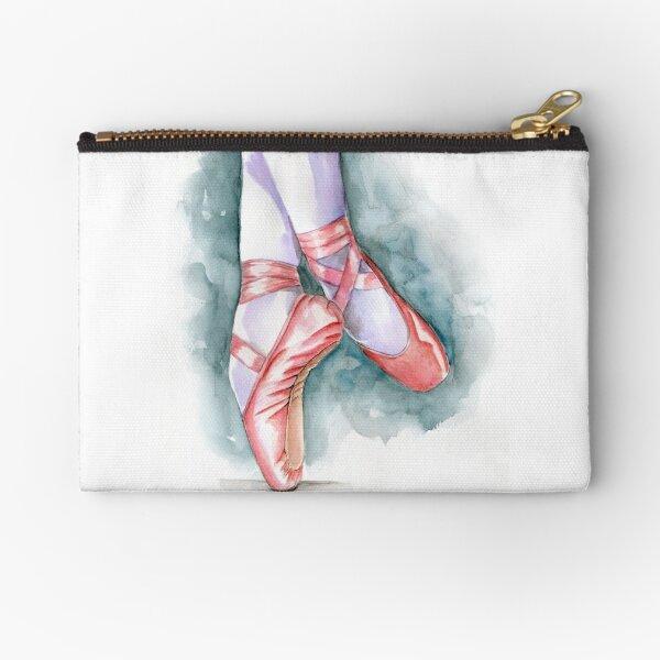ballet shoes Zipper Pouch