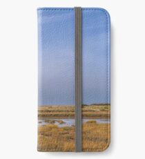 """""""A day in March - Blakeney Marshes"""" iPhone Wallet/Case/Skin"""