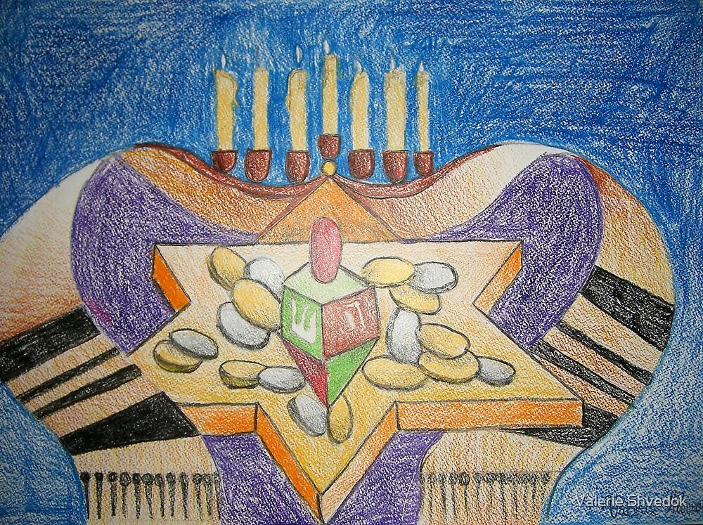 Light of the Holiday by Valerie Shvedok