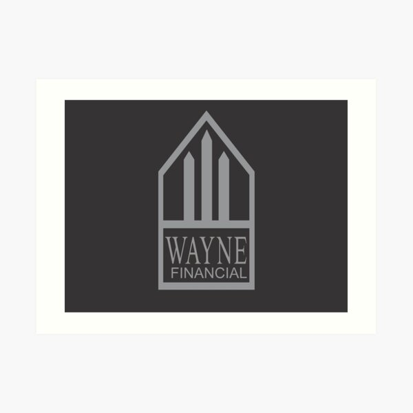 Wayne Financial Art Print