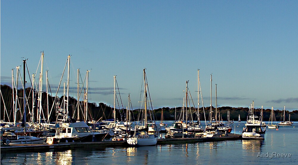 Mylor Marina 2 by AndyReeve