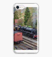 44806 @ Goathland railway station iPhone Case/Skin