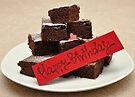 Birthday Brownies  by Kyoko Beaumont