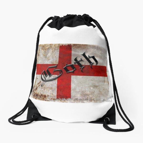 Saint George's Cross Drawstring Bag