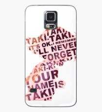 Your Name is Taki Case/Skin for Samsung Galaxy