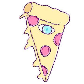 Illuminati Pizza by moeyumi