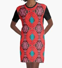 THURIACA Graphic T-Shirt Dress