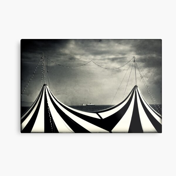 Circus with distant ships Metal Print