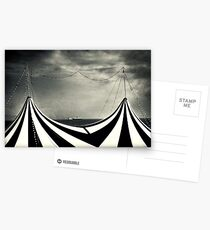 Circus with distant ships Postcards