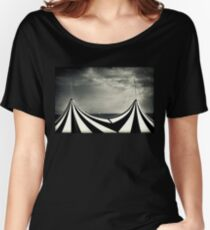 Circus with distant ships Women's Relaxed Fit T-Shirt