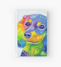 Rainbow Chiweenie Hardcover Journal