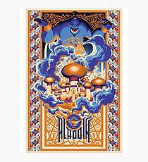 Aladdin Photographic Print